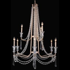 Barcelona - Nine Light 2-Tier Chandelier