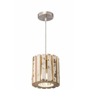 Woody - One Light Mini Pendant