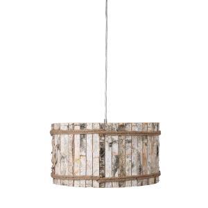 Woody - One Light Drum Pendant