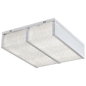 Twisted Sistah - 12 Inch 30W 2 LED Flush Mount
