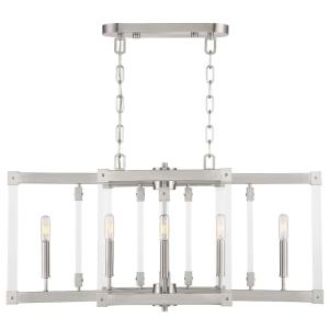 Halcyon - Six Light Linear Pendant