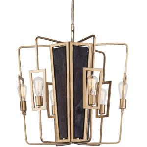 "Madeira - 25"" 24W 6 LED Chandelier"