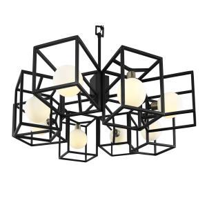 Plaza - Eight Light Pendant