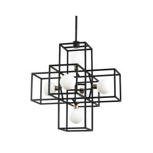 Plaza - Six Light Pendant