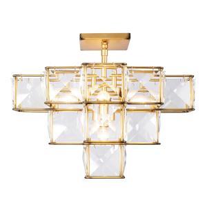 Cubic - Five Light Ceiling Fixture