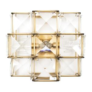 Cubic - Three Light Sconce