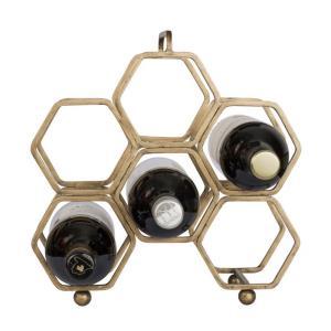 12 Inch Hexagonal Wine Rack