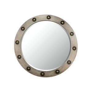 """Varaluz Casa - 36"""" Framed Beveled Mirror"""