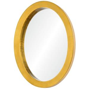 Ringleader - 27.5 Inch Thick Frame Oval Mirror