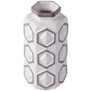 """Hex - 12.25"""" Large Vase"""