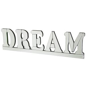 "Dream - 23.6"" Mirrored Wall Art"