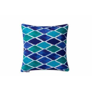 "Harlequin - 18"" Square Throw Pillow"
