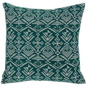 Tribal - 18 Inch Square Throw Pillow