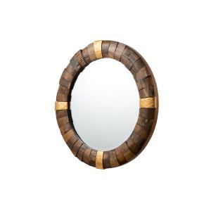 """True North 30"""" Round Mirror"""