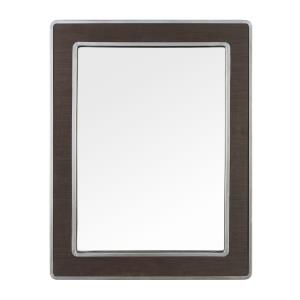 Macie - Rectangular Wood and Metal Mirror
