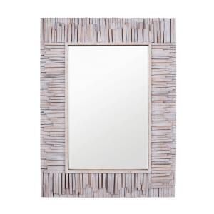Nellie - Rectangular Wood Mirror