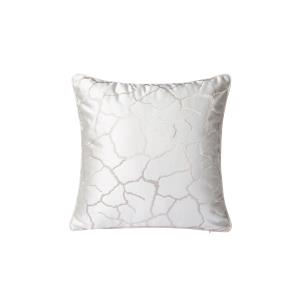 White Crackle Throw Pillow (Case Only)