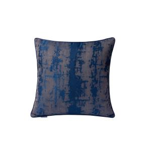 Modern Blue Imprint Square Throw Pillow (Case Only)