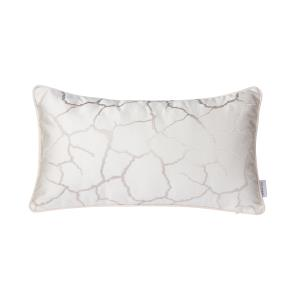 White Crackle Lumbar Pillow (Case Only)