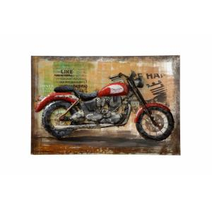 Varaluz Casa - 47.25 Inch Motorcycle Wall Art