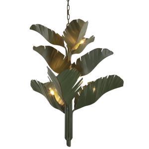 Banana Leaf - 9 Light 3-Tier Chandelier