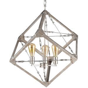 Askew - Three Light Large Pendant