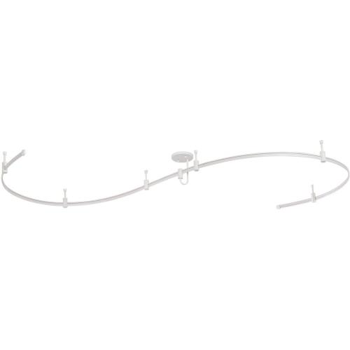 Vaxcel CB31455WH Milano - 144 Inch Monorail Track Kit