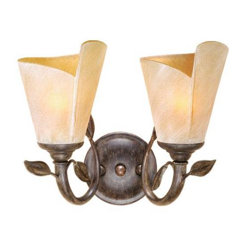 Vaxcel CP-VLU002BW Capri - Two Light Vanity