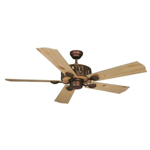 Vaxcel FN52265WP Log Cabin - 52 Inch Ceiling Fan