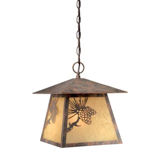 Vaxcel OD50546OA Yellowstone - One Light Outdoor Pendant