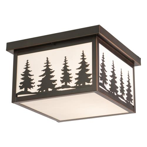 Vaxcel OF33412BBZ Yellowstone - 12 Inch Outdoor Ceiling Mount
