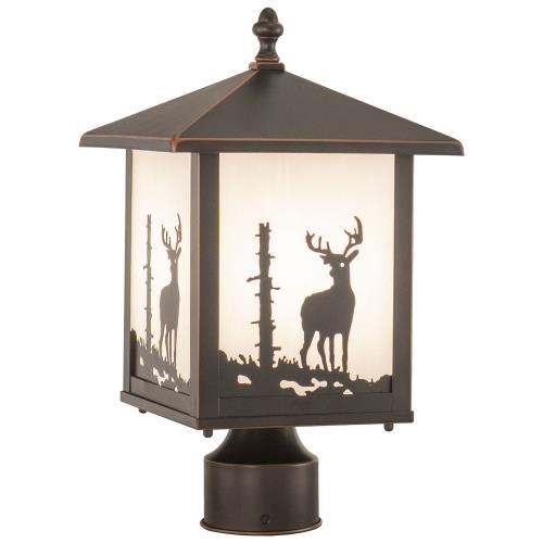 Vaxcel OP33585BBZ Yellowstone - One Light Outdoor Post Lantern