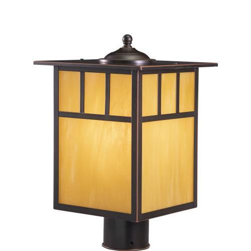 Vaxcel OP37295BBZ Mission - One Light Outdoor Post Lantern