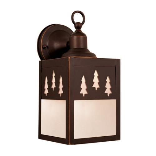 Vaxcel OW24953BBZ Yellowstone - One Light Outdoor Wall Sconce
