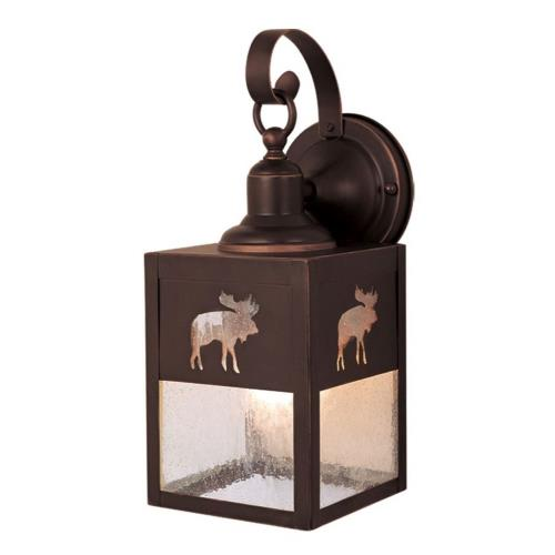Vaxcel OW24963BBZ Yellowstone - One Light Outdoor Wall Sconce