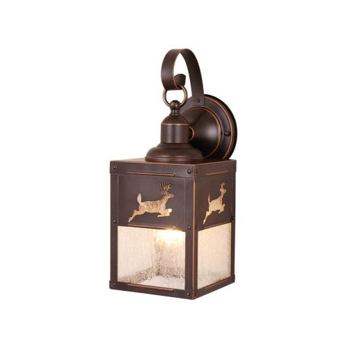 Vaxcel OW33553BBZ Yellowstone - One Light Outdoor Wall Sconce