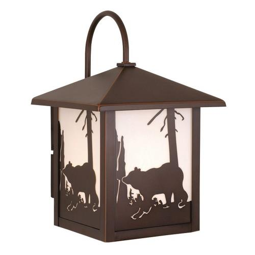 Vaxcel OW35083BBZ Yellowstone - One Light Outdoor Wall Sconce