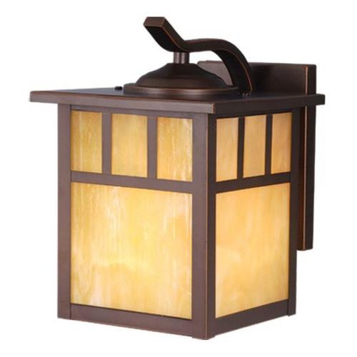 Vaxcel OW37273BBZ Mission - 7 Inch Outdoor Wall Sconce