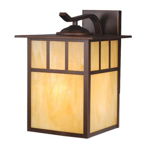 Vaxcel OW37293BBZ Mission - 10 Inch Outdoor Wall Sconce