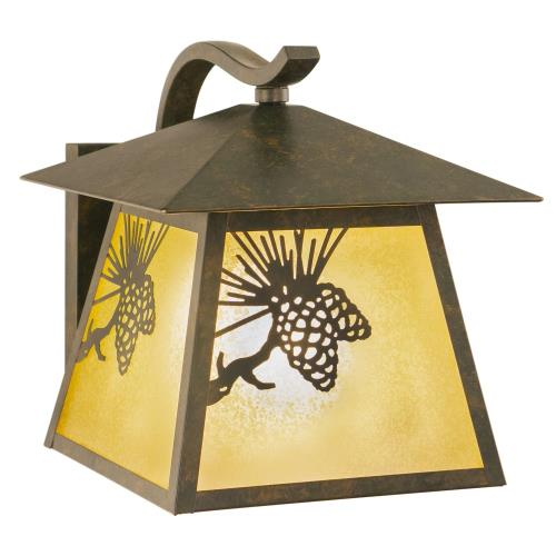 Vaxcel OW50513OA Yellowstone - One Light Outdoor Wall Sconce
