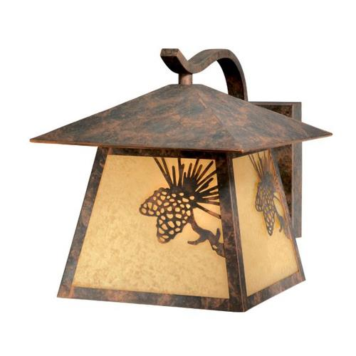 Vaxcel OW50593OA Yellowstone - One Light Outdoor Wall Sconce