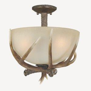 Yoho - Three Light Semi-Flush Mount