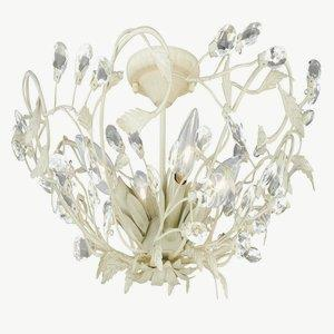 Jardin - Four Light Flush Mount