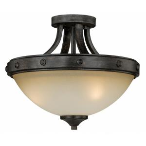 Halifax - Two Light Semi-Flush Mount