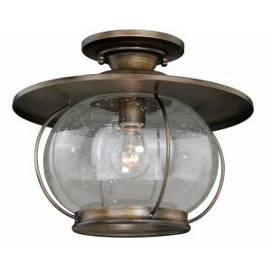 Jamestown - One Light Outdoor Semi-Flush Mount