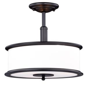 Carlisle - Three Light Semi-Flush Mount