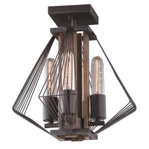 Dearborn - Four Light Semi-Flush Mount