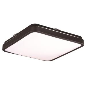 Aries - 14 Inch 19W 1 LED Square Flush Mount