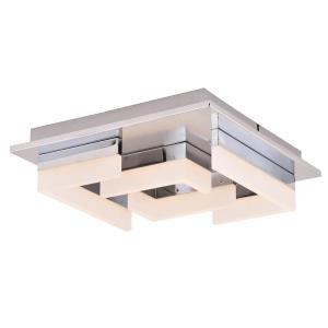 Atra - 13.5 Inch 26W 1 LED Square Flush Mount