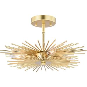 Nikko - Four Light Semi-Flush Mount